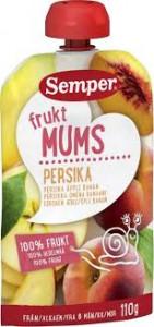 FRUKTMUMS PERSIKA 6 MÅN SEMPER 110 G