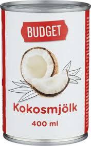 Kokosmjölk Budget 400Ml