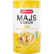 MAJSKAKOR OST 125 G FRIGGS