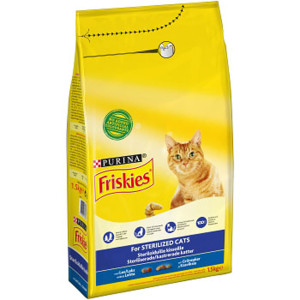 FRIKIES STERILIZED CATS 1,5KG