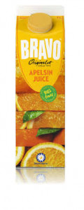 Apelsin Juice Bravo 1 L