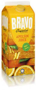 Bravojuice Apelsin 2 L