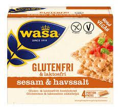 Glutenfri Knäckebröd Sesam&Havssalt 240 G Wasa