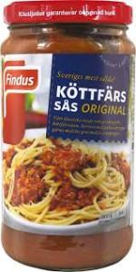 KÖTTFÄRSSÅS ORIGINAL 500 G FINDUS
