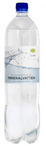 KOLSYRAT VATTEN NATURELL 1,5 L FAVORIT